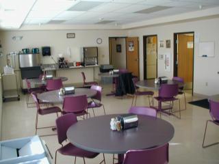 Men's facility cafeteria