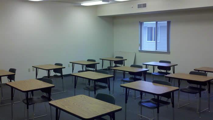 Fairmont facility classroom