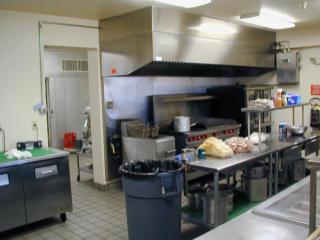 Men's facility kitchen